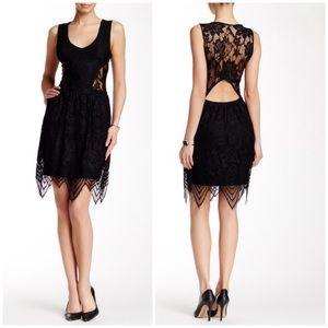 Tart Lila Lace Overlay Crochet Bodycon Dress